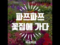 [가정용 식물재배기 우리텃밭 파쯔파쯔 꽃집에 가다] 꽃집에 가서 핑크핑크한 꽃 향기 옷 얻어왔어요!