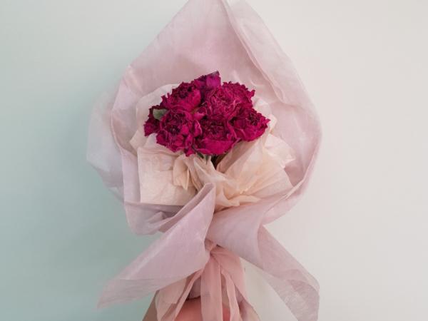 시든 꽃 버리기 아깝다면? (드라이플라워, 압화 만들기) / 우리텃밭 파쯔파쯔 / 가정용 식물재배기